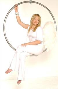 Hilary Duff Angel Ring